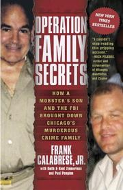 Cover art for OPERATION FAMILY SECRETS