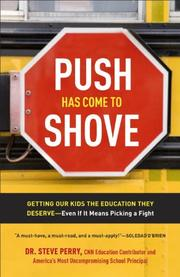 Book Cover for PUSH HAS COME TO SHOVE