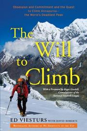 Cover art for THE WILL TO CLIMB
