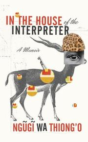 Cover art for IN THE HOUSE OF THE INTERPRETER