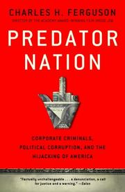 Book Cover for PREDATOR NATION