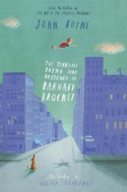 Cover art for THE TERRIBLE THING THAT HAPPENED TO BARNABY BROCKET
