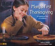 Cover art for MARY'S FIRST THANKSGIVING
