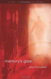 Cover art for MEMORY'S GATE