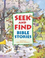Cover art for SEEK AND FIND BIBLE STORIES