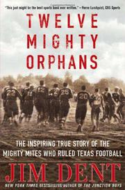 Cover art for TWELVE MIGHTY ORPHANS
