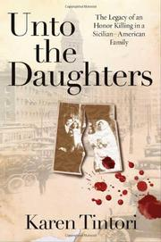Cover art for UNTO THE DAUGHTERS