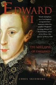 Cover art for EDWARD VI