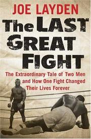 Cover art for THE LAST GREAT FIGHT