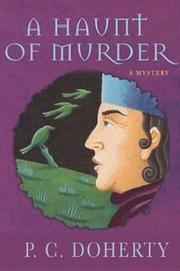 Book Cover for A HAUNT OF MURDER