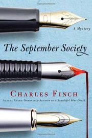 Cover art for THE SEPTEMBER SOCIETY