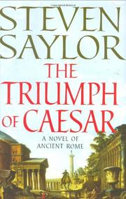 Book Cover for THE TRIUMPH OF CAESAR
