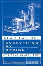 EVERYTHING BY DESIGN by Alan Lapidus