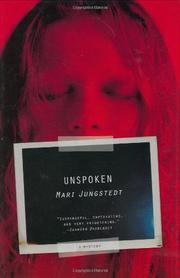 UNSPOKEN by Mari Jungstedt