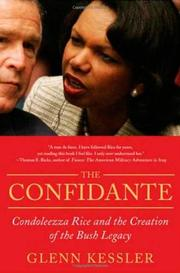 THE CONFIDANTE by Glenn Kessler