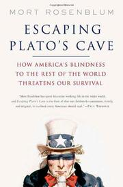 Book Cover for ESCAPING PLATO'S CAVE