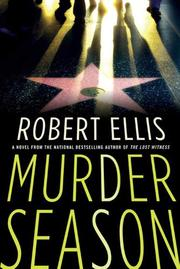 Cover art for MURDER SEASON