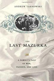 Book Cover for THE LAST MAZURKA
