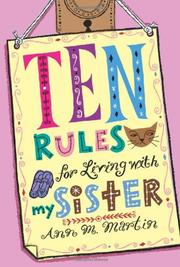 Book Cover for TEN RULES FOR LIVING WITH MY SISTER