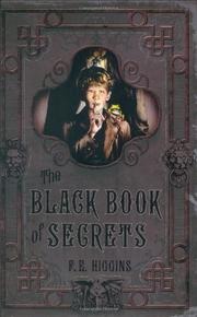 Cover art for THE BLACK BOOK OF SECRETS