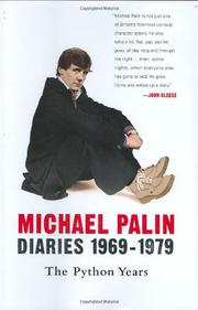 DIARIES 1969–1979 by Michael Palin