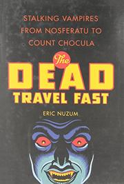 Cover art for THE DEAD TRAVEL FAST