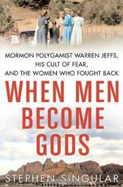Cover art for WHEN MEN BECOME GODS