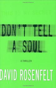 Book Cover for DON'T TELL A SOUL