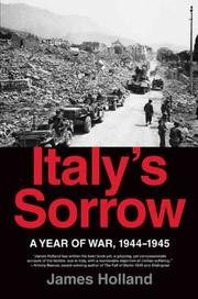 Cover art for ITALY'S SORROW