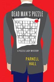 Cover art for DEAD MAN'S PUZZLE