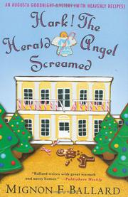 HARK! THE HERALD ANGEL SCREAMED by Mignon F. Ballard