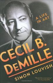 CECIL B. DeMILLE by Simon Louvish