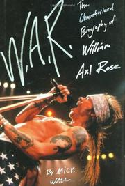 Cover art for W.A.R.