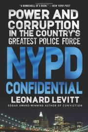 NYPD CONFIDENTIAL by Leonard Levitt