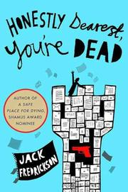Cover art for HONESTLY DEAREST, YOU'RE DEAD