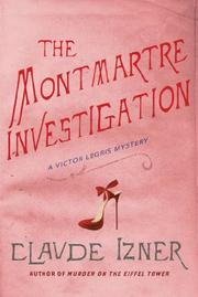 Cover art for THE MONTMARTRE INVESTIGATION