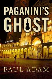 Cover art for PAGANINI'S GHOST