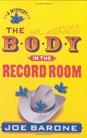 Book Cover for THE BODY IN THE RECORD ROOM