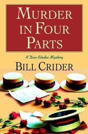 Cover art for MURDER IN FOUR PARTS