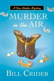Cover art for MURDER IN THE AIR