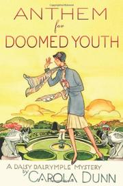 Cover art for ANTHEM FOR DOOMED YOUTH