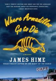 Cover art for WHERE ARMADILLOS GO TO DIE