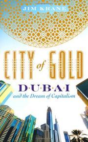 CITY OF GOLD by Jim Krane