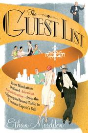 Cover art for THE GUEST LIST