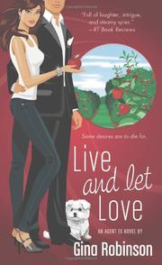 Book Cover for LIVE AND LET LOVE