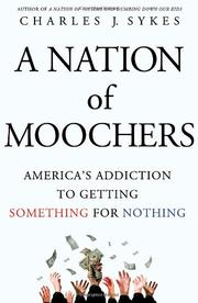 Book Cover for A NATION OF MOOCHERS