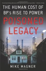 Cover art for POISONED LEGACY