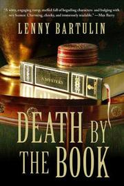 DEATH BY THE BOOK by Lenny Bartulin