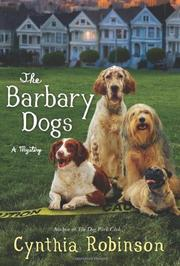 Cover art for THE BARBARY DOGS