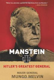 Book Cover for MANSTEIN